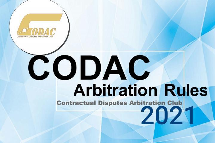CODAC Rules 2021